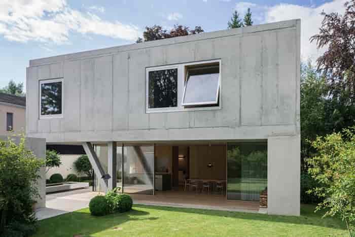 konsep rumah beton