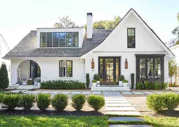 rumah eropa klasik minimalis