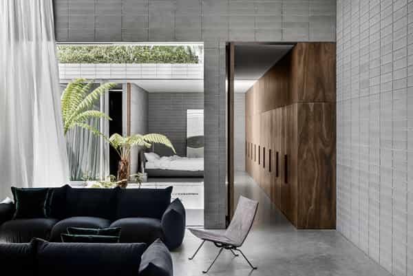keindahan beton dari interior hingga arsitektur