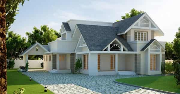 model atap rumah gaya eropa